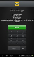 Screenshot of MTNza KeyPad
