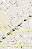 Screenshot of LA Metro Bus Tracker Pro