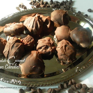 Chocolate Coconut Pecan Candies