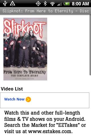 Slipknot: Here to Eternity Pt1