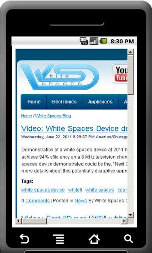 White Spaces Super WiFi