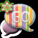 GO SMS THEME/GlitterRainbow icon