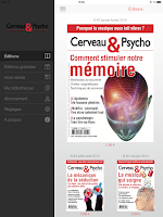 Screenshot of Cerveau & Psycho