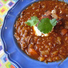 Lentil Soup With Bacon