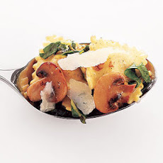Ravioli With Mushrooms and Chard