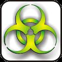 BioHazard doo-dad green icon