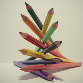 Pencil-7 by Hasnain Rizvi - Artistic Objects Other Objects