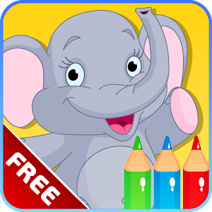 Kids Alphabet Coloring Book