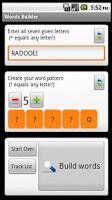 Screenshot of Words Builder For Friends