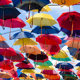 Umbrellas by Kovács Gyuri - Artistic Objects Clothing & Accessories ( colors, umbrella )