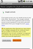 Screenshot of Goodev Latitude