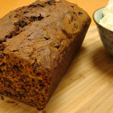 Pumpkin Bread With Mini Chocolate Chips