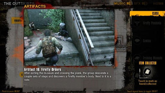 The Last Of Us Map App For Lollipop Android Download - The last of us map