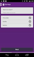 Screenshot of SurveyMini