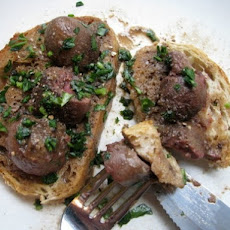 Deviled Kidneys on Toast