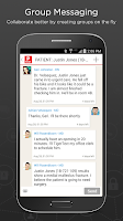 Screenshot of TigerText Secure Messenger App