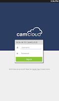 Screenshot of Camcloud