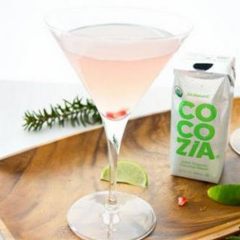 Coconut Pomegranate Martini