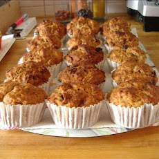 Apple, Raisin and Nut Muffins