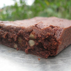 Triple Chocolate Homemade Brownie