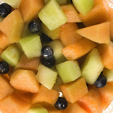Melon Salad with Sweet Wine and Lemon Recipe