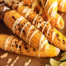 Corn with Curried Yogurt Recipe