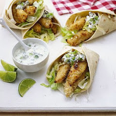 Mexican Fish Wraps