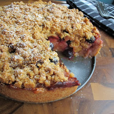 Apple Blueberry Pie Cake