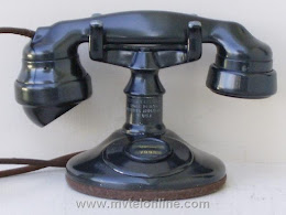 Cradle Phones - Western Electric A1  4 1