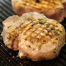 Buttermilk- Brined Pork Chops