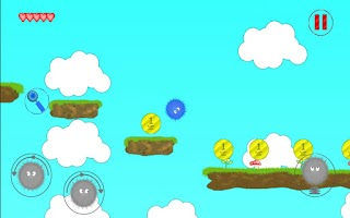 Screenshot of Fuzzy hero