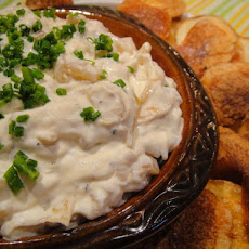 Cook the Book: Caramelized Onion Dip with Thick-Cut Potato Chips