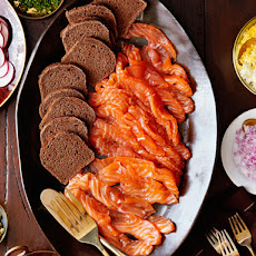 Gravlax With the Works