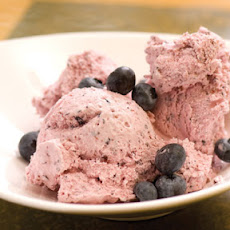 Blues-Busting Blueberry Ice Cream