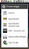 Screenshot of Top news from svd.se