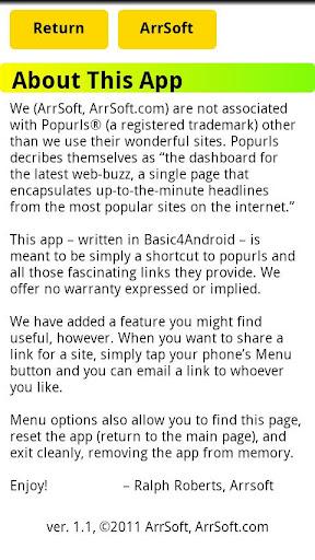 【免費新聞App】popurls® link-APP點子