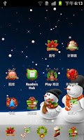 Screenshot of Christmas Theme
