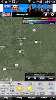 Screenshot of NBC Nebraska Storm Tracker
