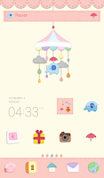 Screenshot of Felt mobile Dodol Theme