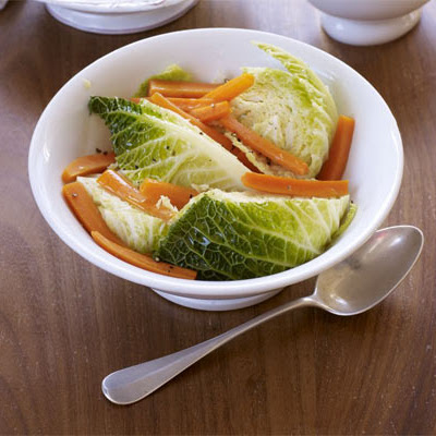 Braised Cabbage & Carrots