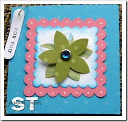 flower punch gift card