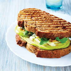 Grilled Pear & Blue Cheese Sandwich