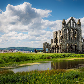 Whitby Abbey Ruins by Jack Brittain - Buildings & Architecture Public & Historical ( uk, england, yorkshire, whitby, ruins, landscape, abbey )