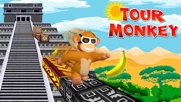 Screenshot of Tour Monkey Game