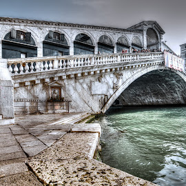 Venice - Rialto by Massimo Vico - Buildings & Architecture Bridges & Suspended Structures ( hdr,  )