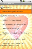 Screenshot of Duties Of The Heart