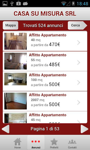 【免費生產應用App】Casa Su Misura Immobiliare-APP點子
