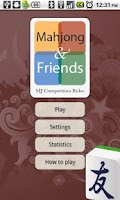 Screenshot of Mahjong and Friends