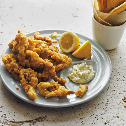 Fried Ipswich Whole Belly Clams with Tartar Sauce