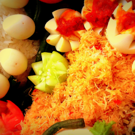 Tumpeng by Dino Rimantho - Food & Drink Cooking & Baking